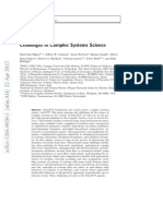 Challenges in Complex Systems Science