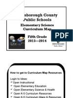 fifth grade science curriculum map