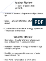 weather final exam review
