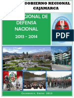 Plan Regional de Defensa Nacional 2013 - 2014