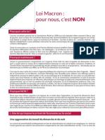 Argumentaire - Loi Macron - MLG