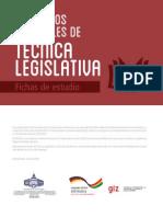 1 Elementos Esenciales de Tecnica Legislativa