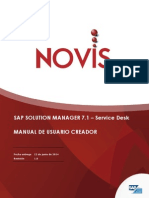 Solution Manager 7.1 Service Desk Manual Usuario Creador
