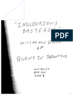 Inglourious Basterds - Original Screenplay