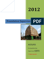 Guide Foundation Supervision