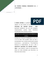 9.2- Recurso de Medida Cautelar Ou de Antecipação de Tutela - Indeferimento de Auxílio-doença