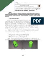 Tim Laborator 4-1oct14 TIM LABORATOR  4-1oct14.pdf TEHNOLOGIA INJECTILOR IN MATRITA profesor conferentiar indrumar