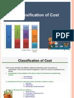Cost Classification