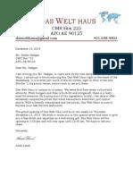 restruant letter merged