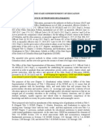 Draft Dc Graduation Rules
