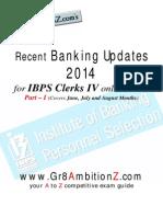 Recent Banking Updates