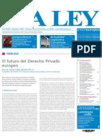 LEIBLE - El Futuro Del Derecho Privado Europeo