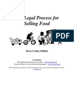 The Legal Process for Selling Food