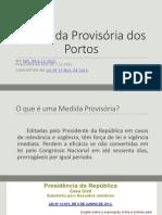 A Medida Provisória Dos Portos