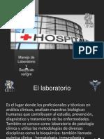 laboratoria y banco de sangre