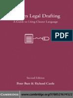 Butt - Modern Legal Drafting