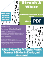 grammarquizstrunkwhiterules
