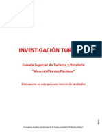 Apunte Investigacion Turistica 2014