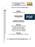 Unidad 2 Contabilización y Control de Los Elementos Del Costo