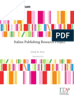 italian publishing research project