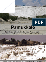 Pamukkale is Located in the Inner Aegean