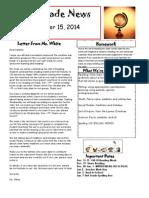 classroom newsletter 121514