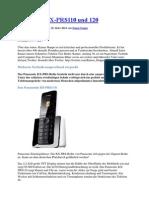 Panasonic KX PRS110