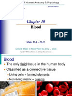 Blood Composition Powerpoint