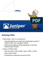 IPsecVPNs Juniper