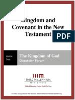 Kingdom and Covenant in the New Testament - Lesson 2 - Forum Transcript