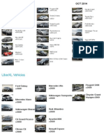 X, Exec, Lux Car List Oct 2014