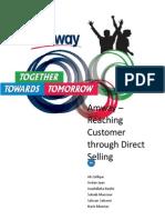 Amway - Reaching Customer Through Direct Selling - Group - Ali Zulfiqar
