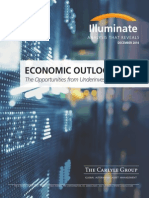 Economic Outlook - Opportunities From Underinvestment