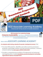 Rdd Presentation Prep and Standards 12 10 14