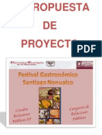 Campaña Festival Gastronomico Santiago Nonualco
