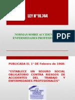 by Normas Sobre Accidentes y Enfermedades Profesionales