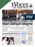 Voces  de Esperanza 14 de Diciembre de 2014