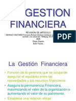 La Gestion Financiera