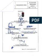 PXR PC 04 2012 R1 Prevención de Caídas