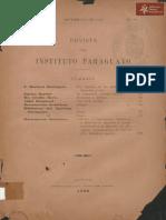 Revista Instituto Paraguayo N° 20 año 1899
