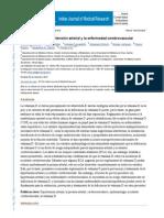 La Vitamina D, La Hipertensión Arterial y La Enfermedad Cerebrovascular