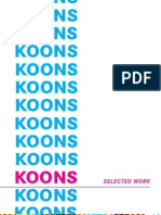 Jeff Koons Artist Catalog