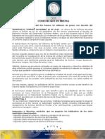 15-12-2014 Ahorrarán pobladores del Río Sonora 50 millones de pesos con decreto del Gobernador Padrés. B121462