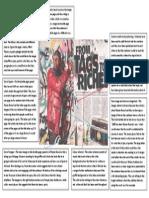 Media - Dizzee Rascal Double Page Spread Analysis1