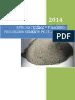 Estudio Tecnico y Financiero Produccion de Cemento