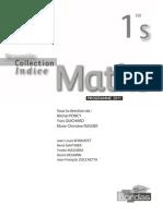 Indice 1ere s Maths Bordas
