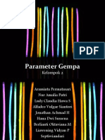 Seismologi Kelompok 2 - Parameter Gempa revisi.ppt