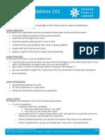 Lesson Plan - Prezi Presentations 101