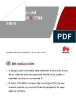 3. OptiX OSN 6800 Hardware Description ISSUE1.05 (Es)
