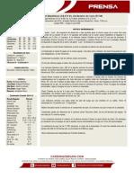 Boletin de Prensa 55 Magallanes - Cardenales